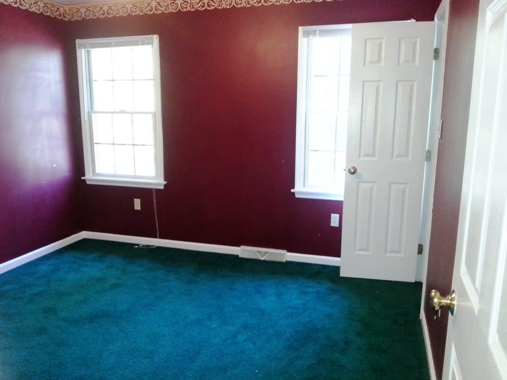 foreclosure house renovation before tour