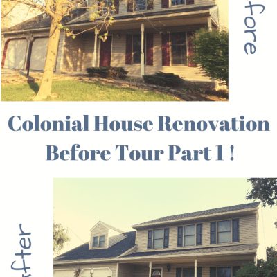 Foreclosure House Renovation Before Tour Part 1
