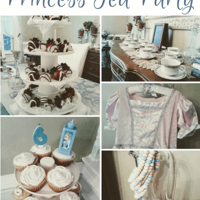DIY Princess Tea Party for a Birthday Girl