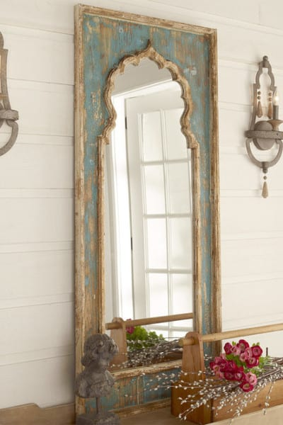 How to Decorate with a Large Mirror