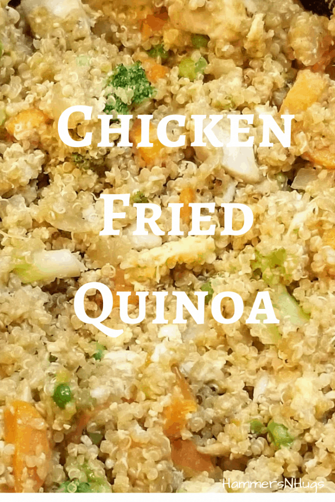 Chicken Fried Quinoa