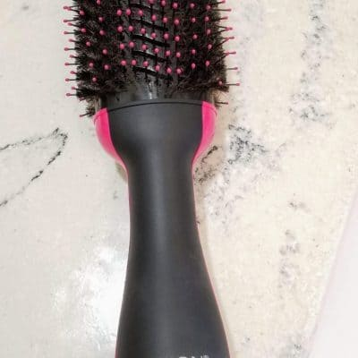 Revlon's One Step Hair Dryer and Volumizer Brush Review