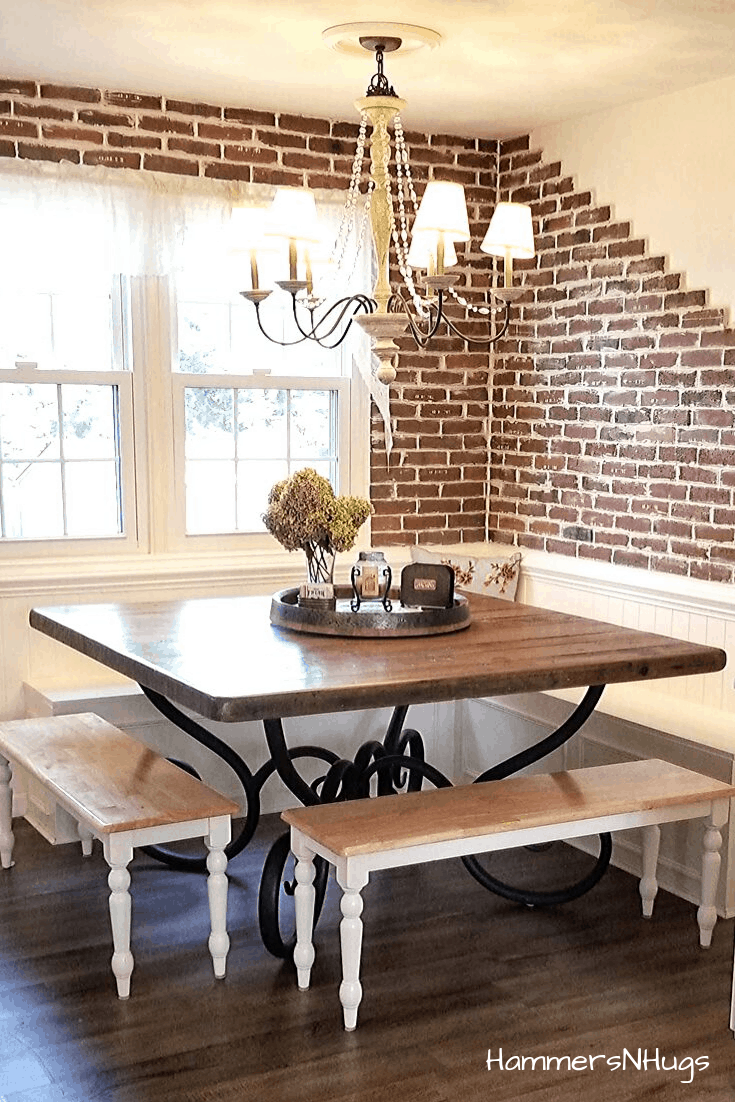 How to Build Easy Breakfast Nook Benches