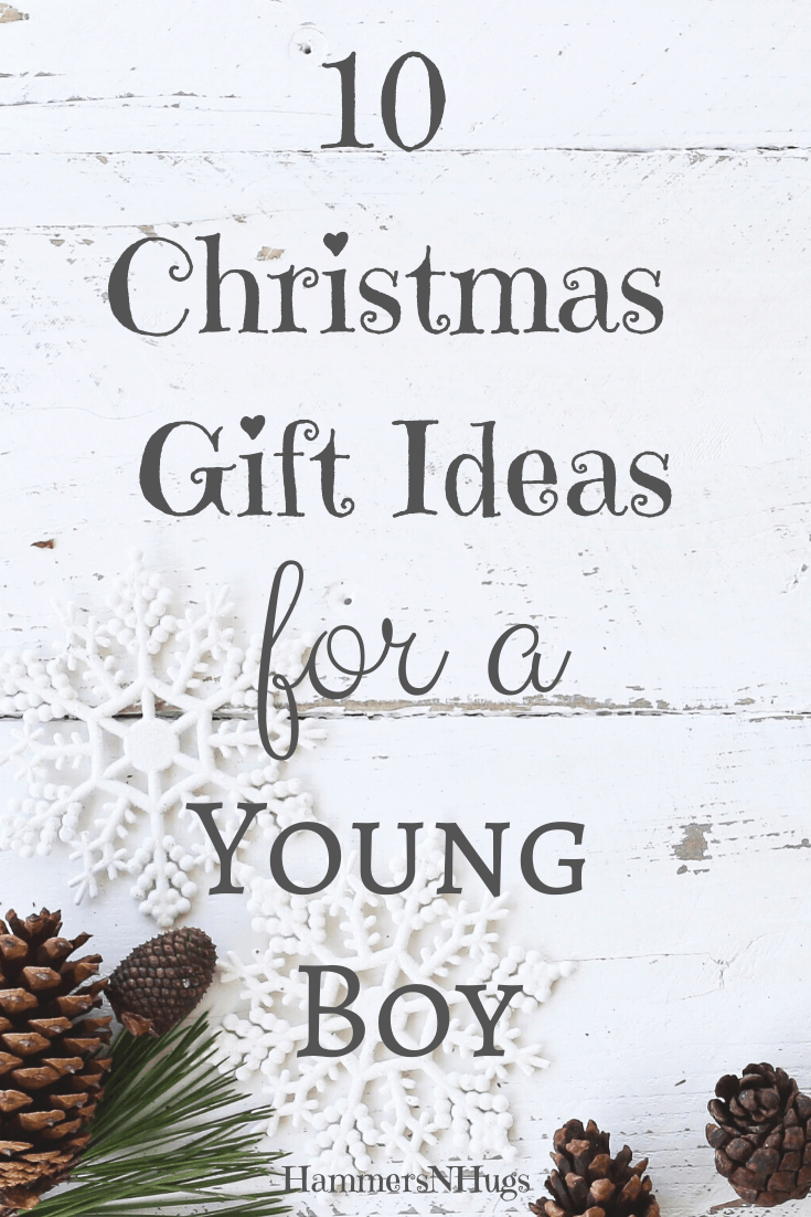 10+ Gift Ideas for Young Boys