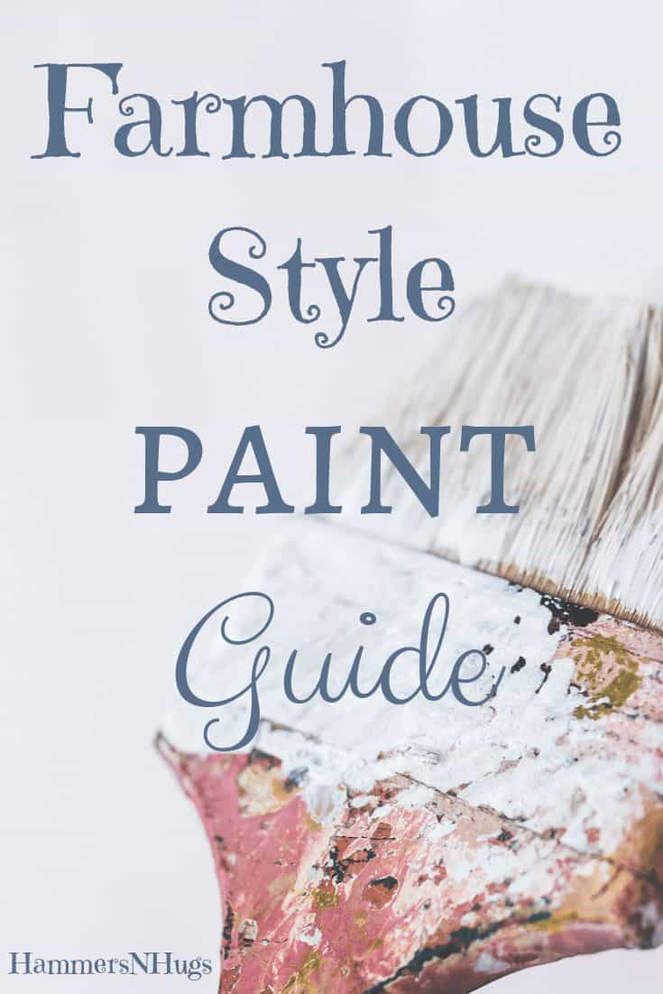 The Best Farmhouse Style Cool White Paint
