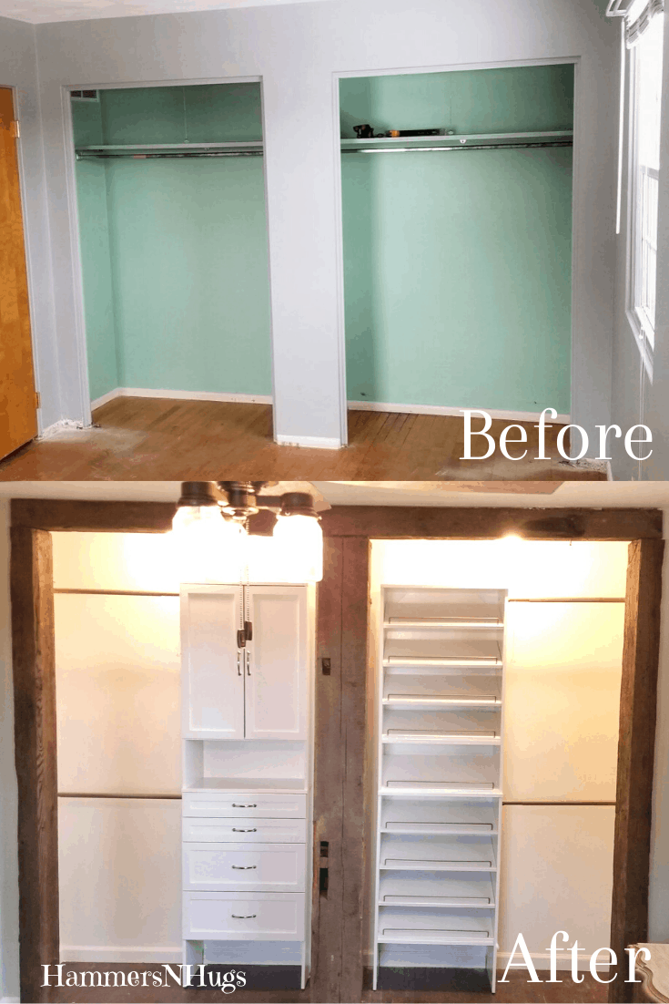Before and After French Country Farmhouse Style Bedroom Renovation
