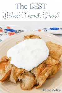 the best peach baked french toast