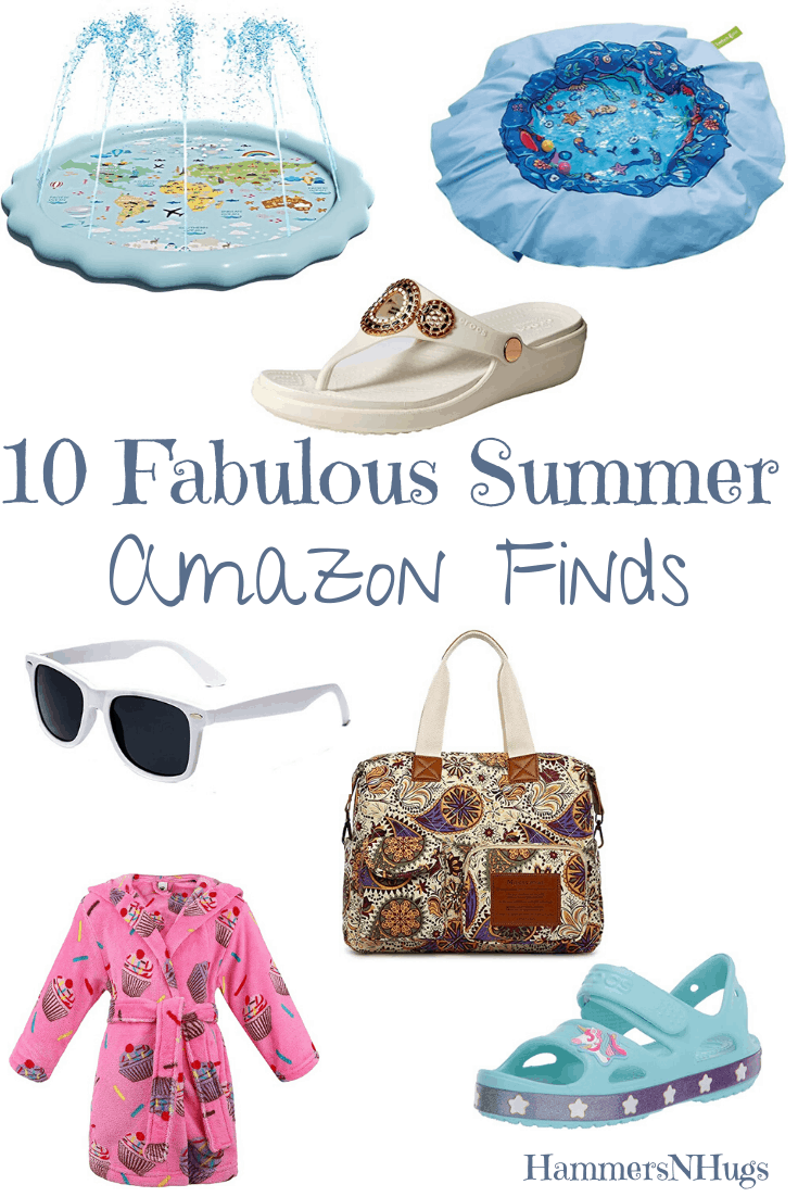 10 Must Have Summer Amazon Finds for the Family