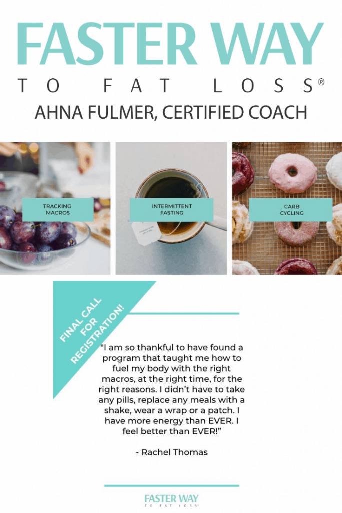 The FASTer Way to Fat Loss With Ahna