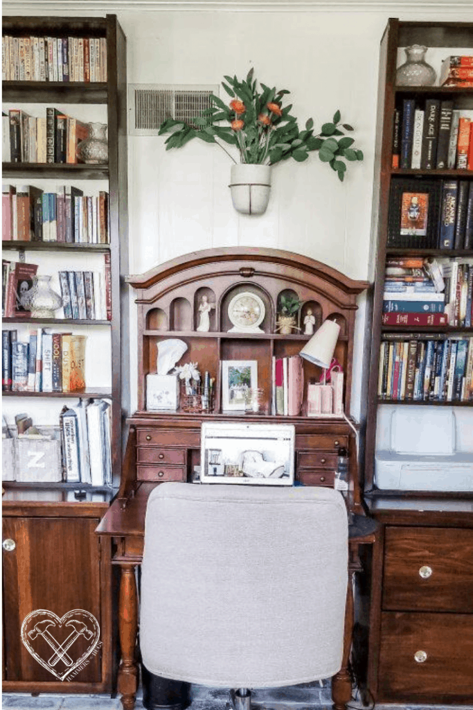 French Country Cottage Home Office Tour