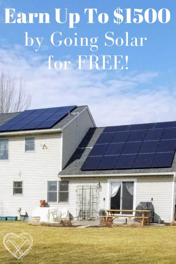 Earn Up to $1500 by Going Solar for FREE Today!
