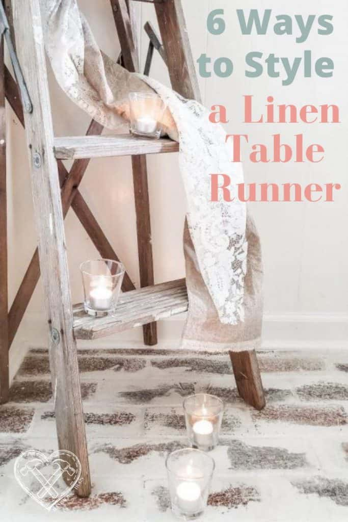 6 Ways to Style a Skinny Linen Table Runner
