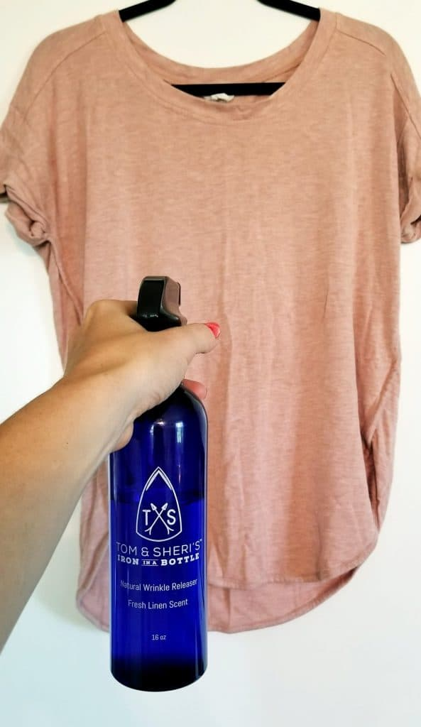 The Best Ironing Hack - Iron in a Bottle