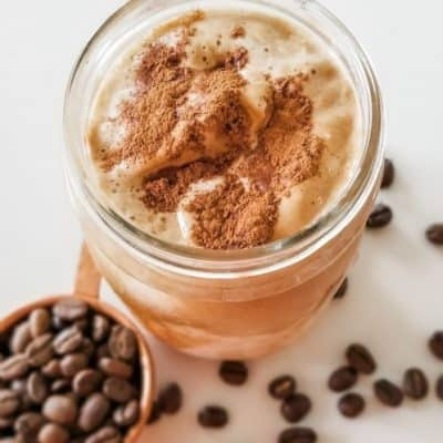 How to Make Whipped Coffee in a Jar
