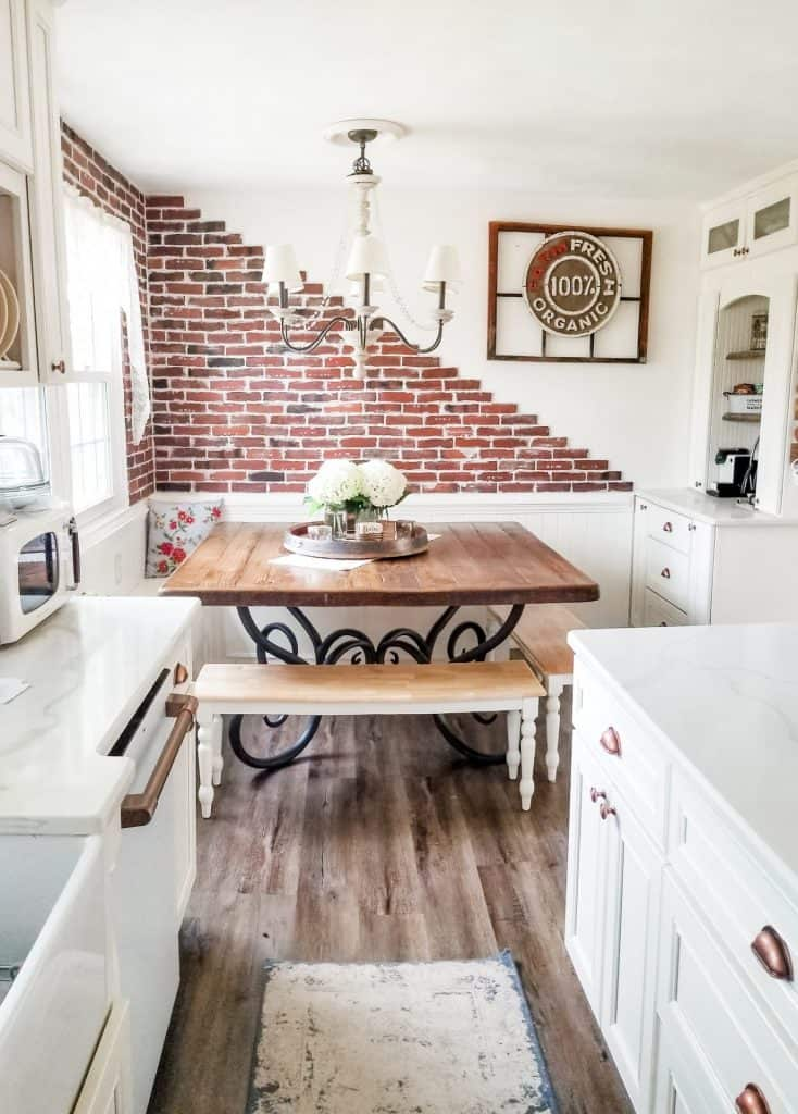 French Country Cottage Farmhouse Kitchen