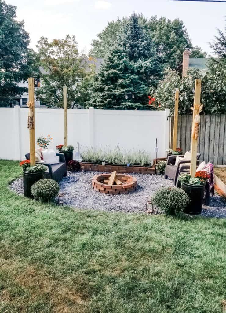 Backyard Fireside Retreat Reveal