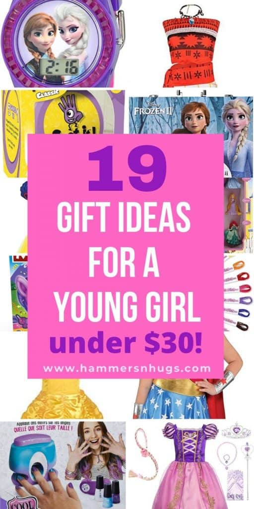19 GIFT IDEAS FOR A YOUNG GIRL UNDER $30