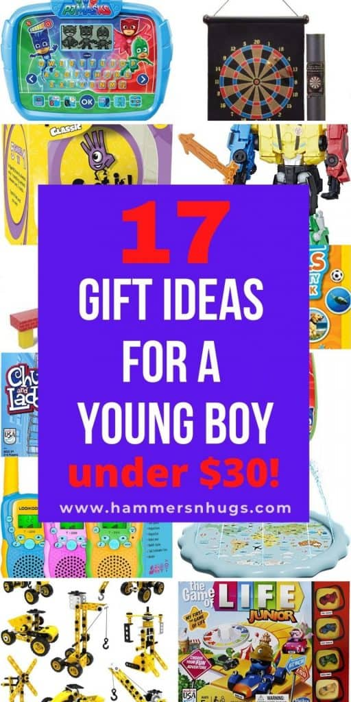 17 GIFT IDEAS FOR A YOUNG BOY UNDER $30