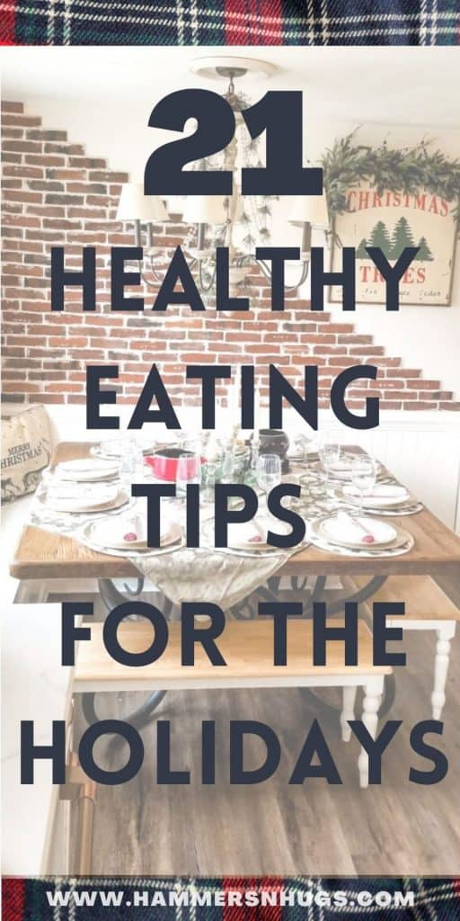 21 Healthy Eating Tips for the Holidays