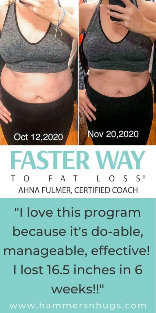 Before and After Fat Loss Transformation Celebration!