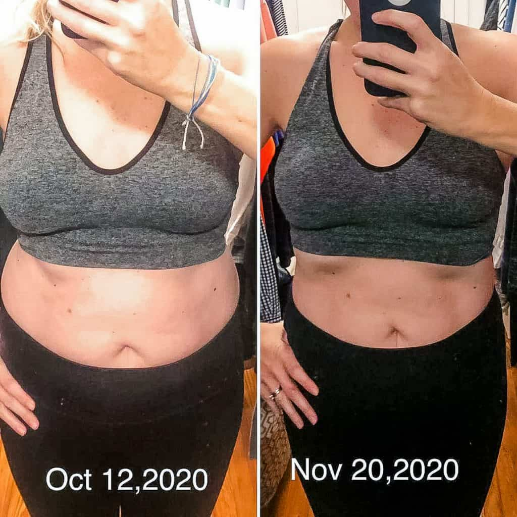 Before and After Fat Loss Transformation