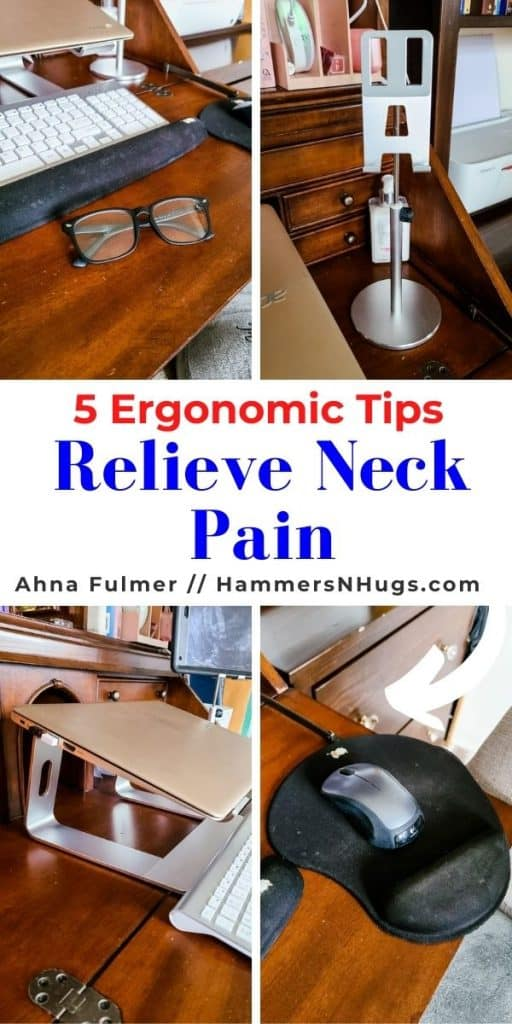 HOW TO RELIEVE NECK PAIN WITH 5 ERGONOMIC TIPS