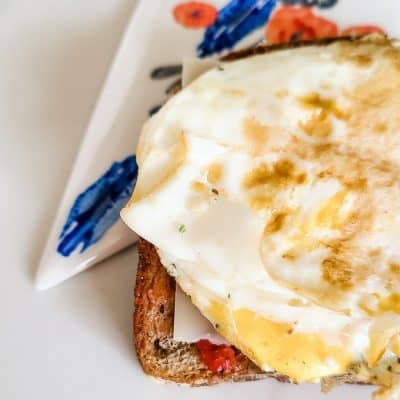 Sweet and Salty Easy Egg Sandwich Recipe
